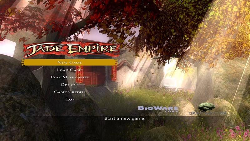 Jade Empire Title Screen