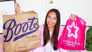 HUGE BOOTS & SUPERDRUG HAUL.. Affordable Makeup & Skincare! (dupes, dupes, dupes) | Imogenation