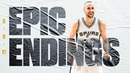 Final 49.1 OT With CLUTCH Manu Ginobili Block! | On This Day