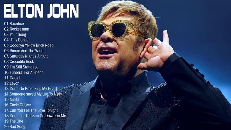Elton John Best Songs Elton John Greatest Hits full album Best Rock Ballads 80's 90's