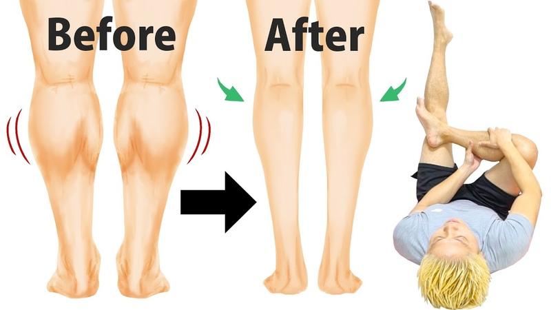 【1日1回】10年悩んだ筋肉ししゃも足がスラッとキレイに痩せた!(むく1