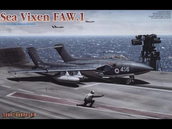 В мире моделизма выпуск 158 - D.H.110 Sea Vixen FAW.1
