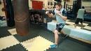 Как бить левый боковой на скачке Это самый сильный удар в боксе