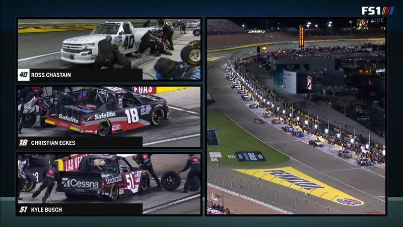 NASCAR Gander Outdoors Trucks 2020 Этап 2 Лас Вегас