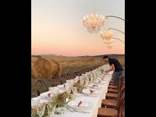 Званый ужин в Тоскане