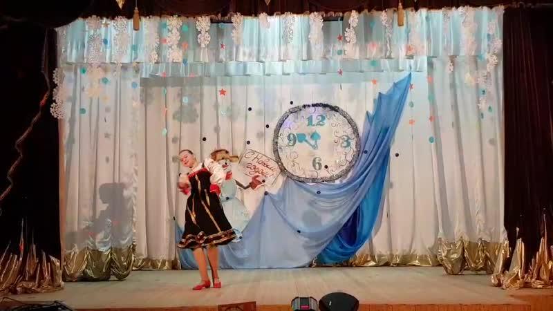 Веселая Танцевальный коллектив Веснянка Дарья Кастрыкина