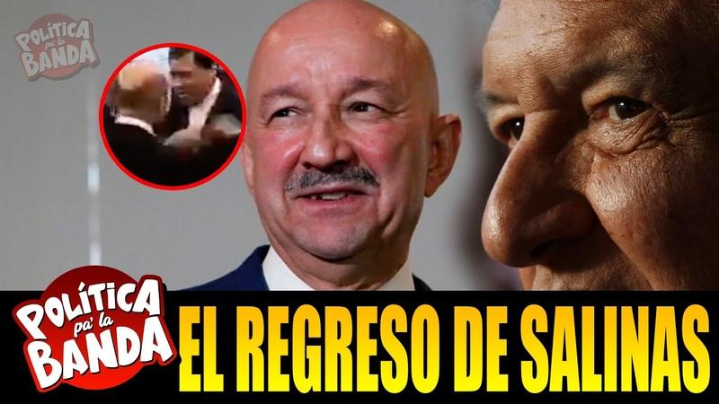¡TÓMALA! JOYA DE VÍDEO DE AMLO, CARLOS SALINAS, Y NORBERTO, CUENTA ESTE DATO SOBRE CARLOS SALINAS