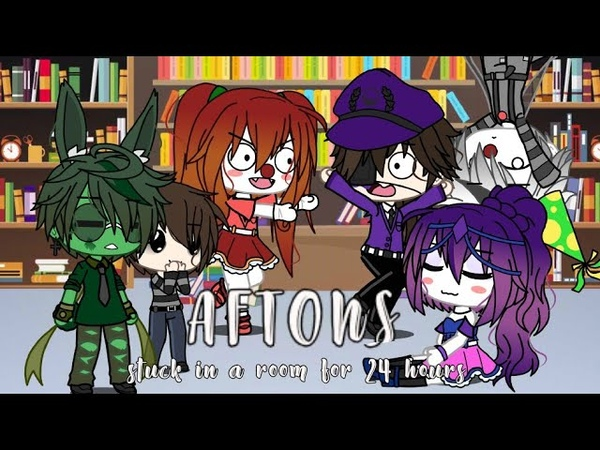 Afton's stuck in a room for 24 hours Ennard and Fredbear Smol Child