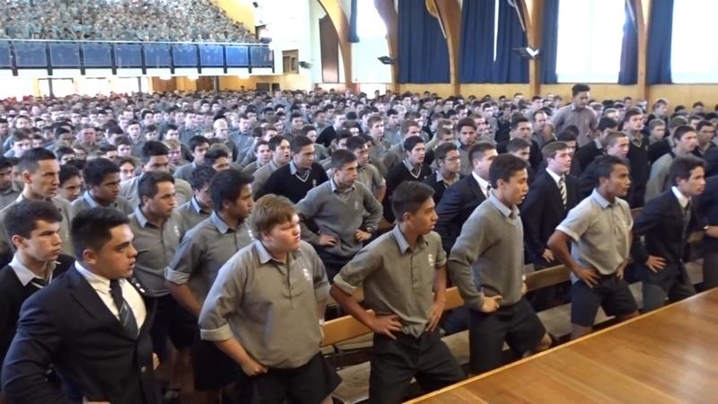 High School Boys Honour Retiring Teacher With Moving Haka