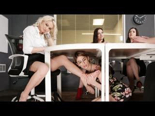Kenzie Taylor, Kristen Scott - Wont Even Know Im Down There! (Pussy Licking, Big Tits, Blonde, Brunette, Lesbian, Fingering)