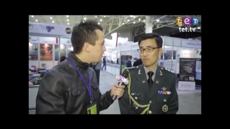 Дурнев 1- На выставке оружия