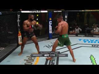 Самые яркие моменты турнира UFC Вегас: Вудли vs Бёрнс