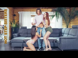 [FakeHub] Nesty, Coco Kiss, Charlie Red, Chloe Lamour, Sofia Lee, Anastasia Brokelyn, Asia Rae - My Hot Step Sisters