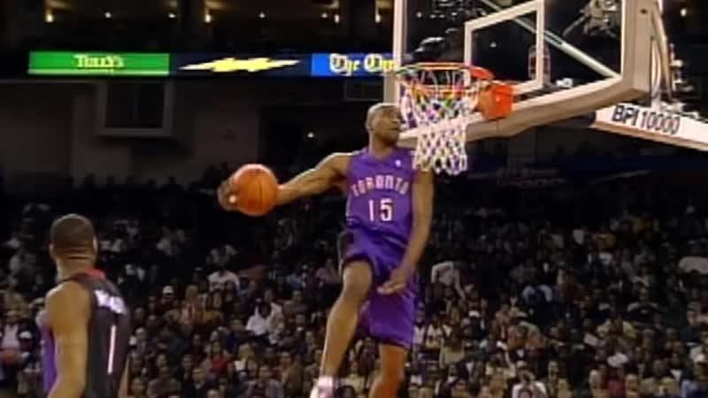 Vince Carter in legendary 2000 Slam Dunk Contest