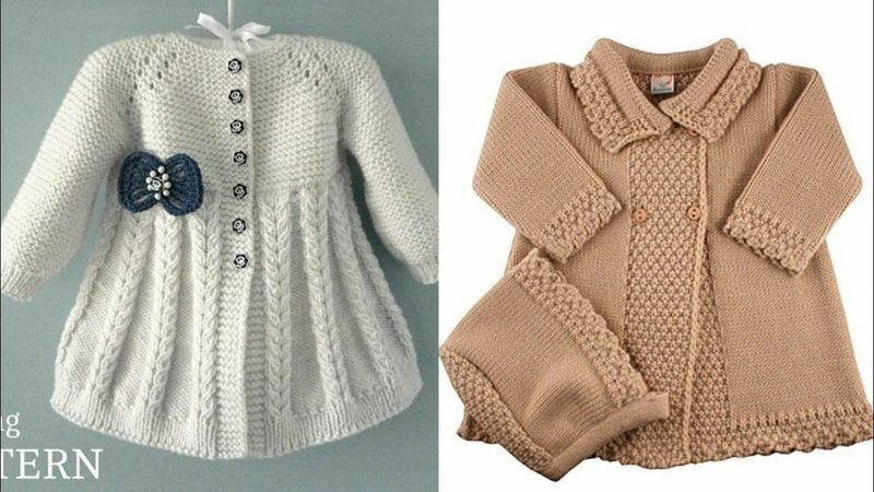 Stunning And Beautiful Hand Kintting Baby Coat New Designs