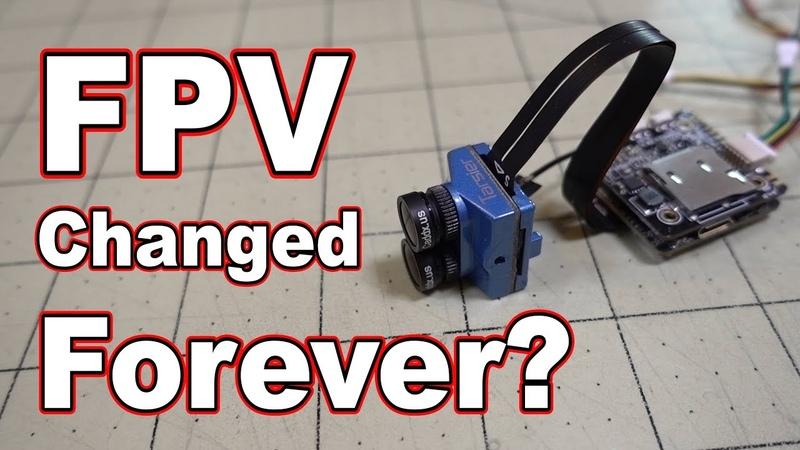 Will This Change FPV Forever Caddx Tarsier 4K FPV Camera 📷