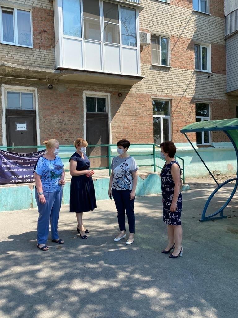 В Таганроге проведен объезд объектов здравоохранения, на которых проводятся ремонтные работы