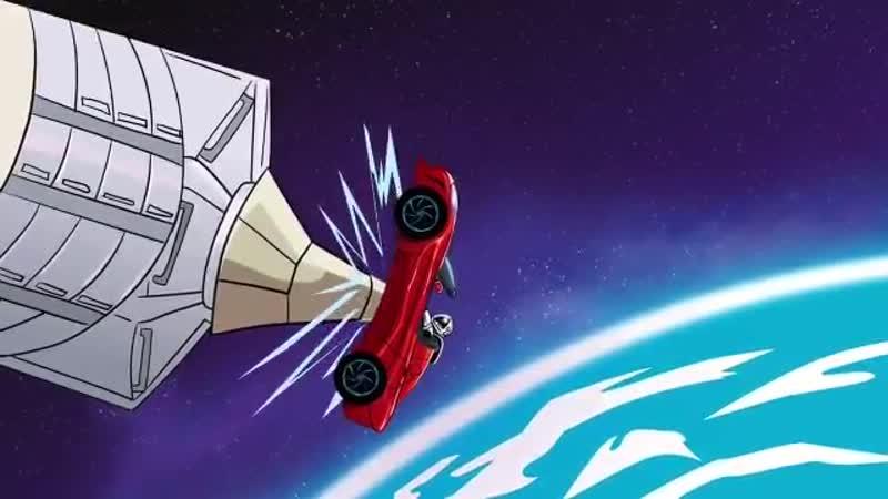 Starman пристыковывается к МКС мультик шутка