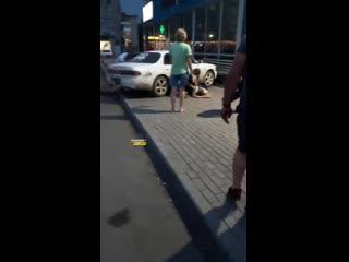 Задержание пьяного водителя в Татарске