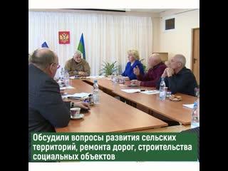 Владимир Уйба посетил с рабочей поездкой Ижемский район