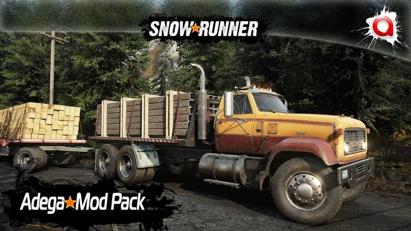 Установка Snow Adega Mod Pack в SnowRunner