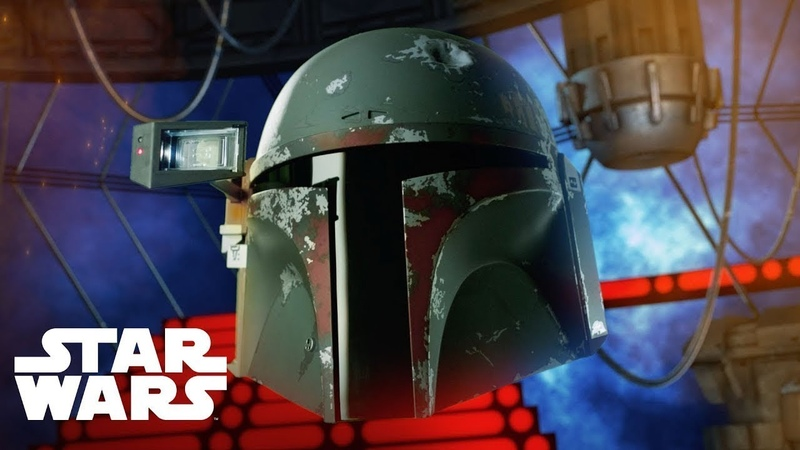 Star Wars Boba Fett elektronischer Premium Helm Produktdemo Video