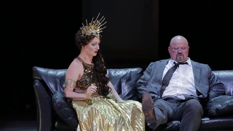 Дуэт Шемаханской царицы и Додона («У меня к тебе есть дело…») - Юлия Щербакова и Михаил Гужов