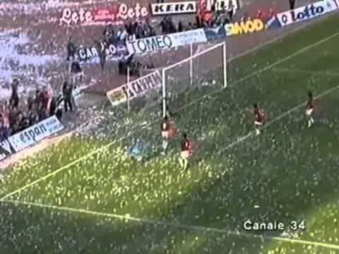 Auriemma Napoli Milan 1 0 Di Canio Campionato 1993 94