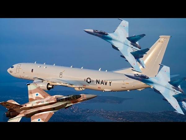 Не только американцы раскрыты подробности перехвата Су 35 самолета ВМС США P 8A Poseidon