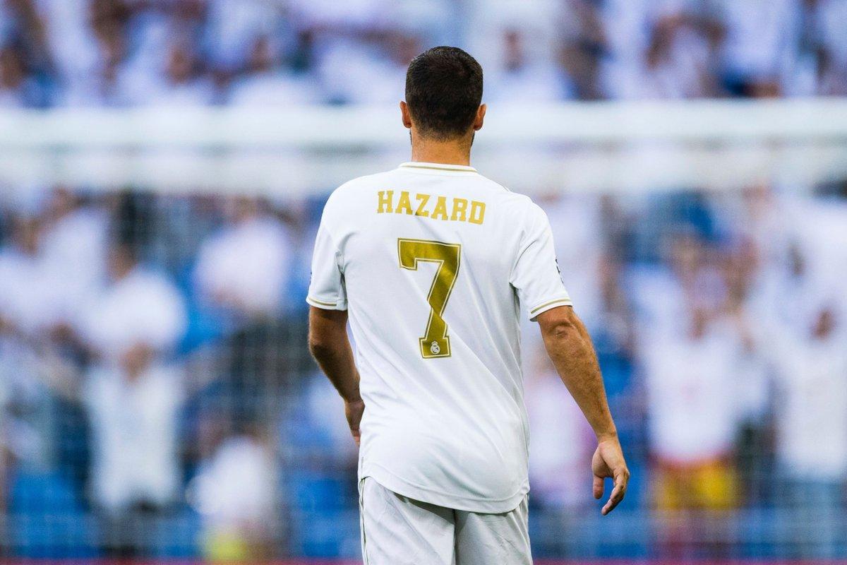 Эден Азар. ФК Реал Мадрид
