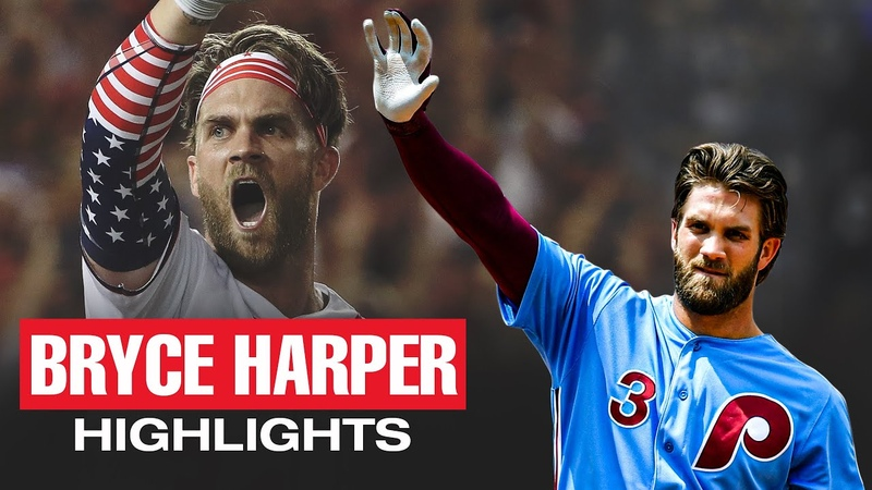 Bryce Harper Top Recent Highlights One of MLB's most EXCITING players
