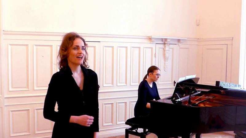R Wagner Dich teure Halle Xenia Galanova soprano Tatjana Schurigina piano