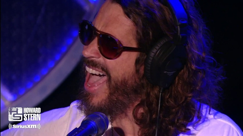 """Chris Cornell Covers Led Zeppelin's Thank You"""" on the Howard Stern Show 2011"""