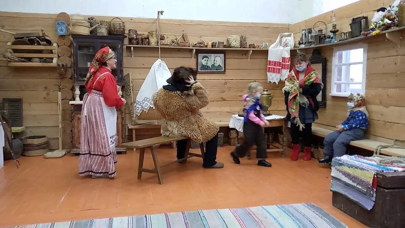 Традиция святочного ряжения в Вожегодском районе Вологодской области