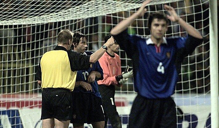 Россия - Словения 2002. Грэм Полл