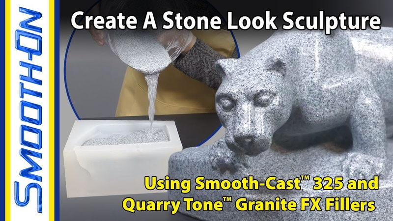 Silicone Mold Making and Stone Like Resin Casting How to use Quarry Tone™ filler