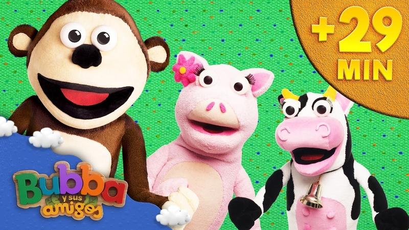 Mix 10 episodios de Bubba Mono Bubba y sus amigos