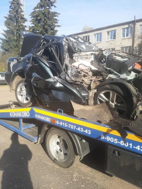Опубликовано видео с места смертельного ДТП с автобусом в Тверской области