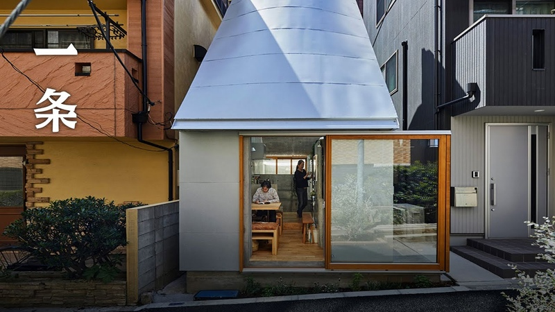 The 18㎡ House of a Japanese Couple in the Heart of Tokyo