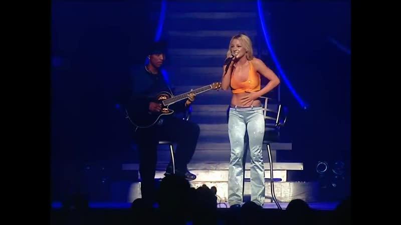 Britney Spears Oops I Did It Again Tour @ London UK Sky One Digital