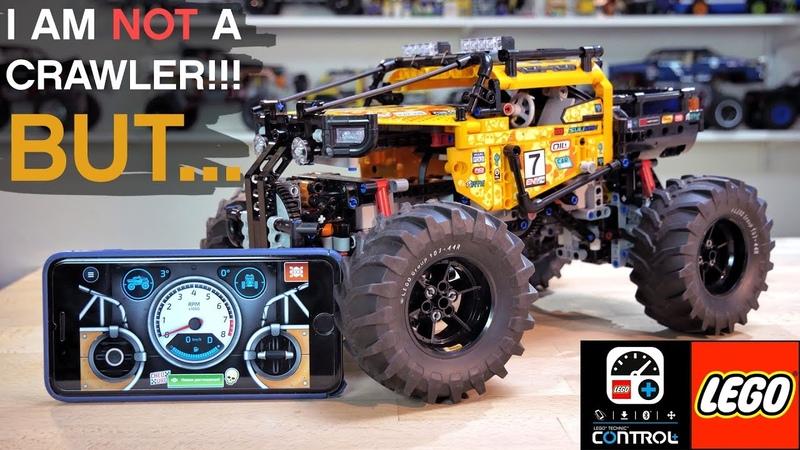 LEGO TECHNIC 42099 Extreme OFF Roader ПОДРОБНЫЙ ОБЗОР In Depth REVIEW New motors