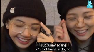 Blackpink live: Lisa and Jisoo EngSub Full episode