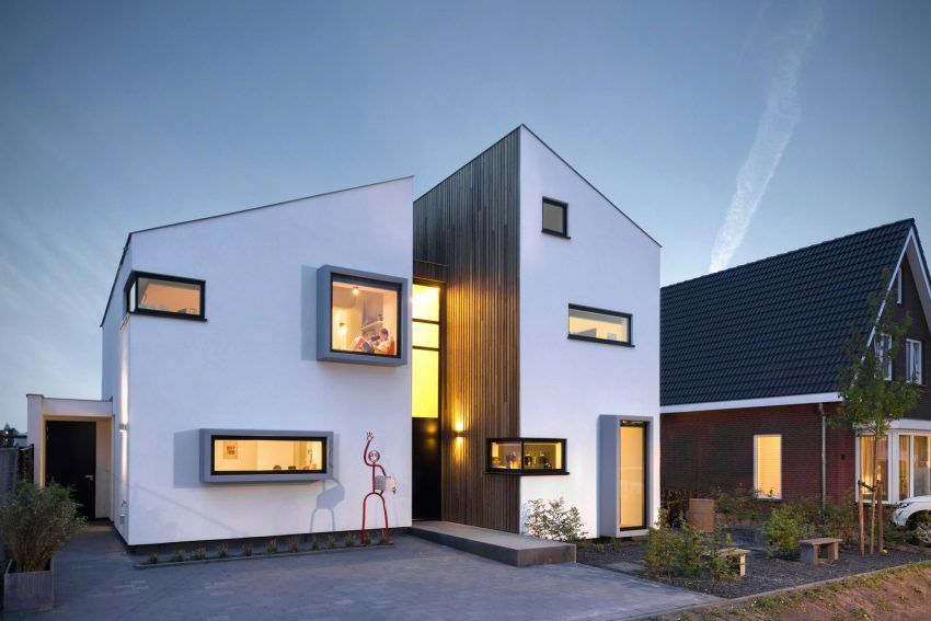 Zone Zuid Architecten Design a Contemporary Home in Roosendaal, The Netherlands