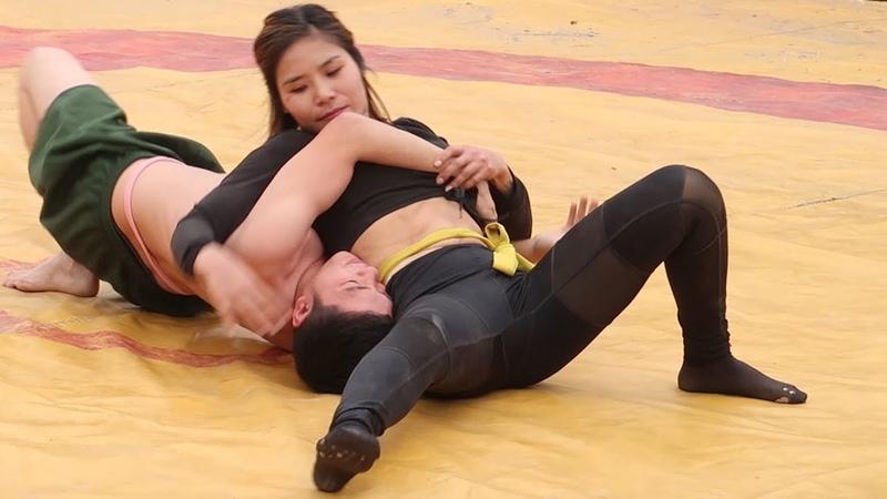NỮ VẬT NAM HAY 2020 Female wrestling Male