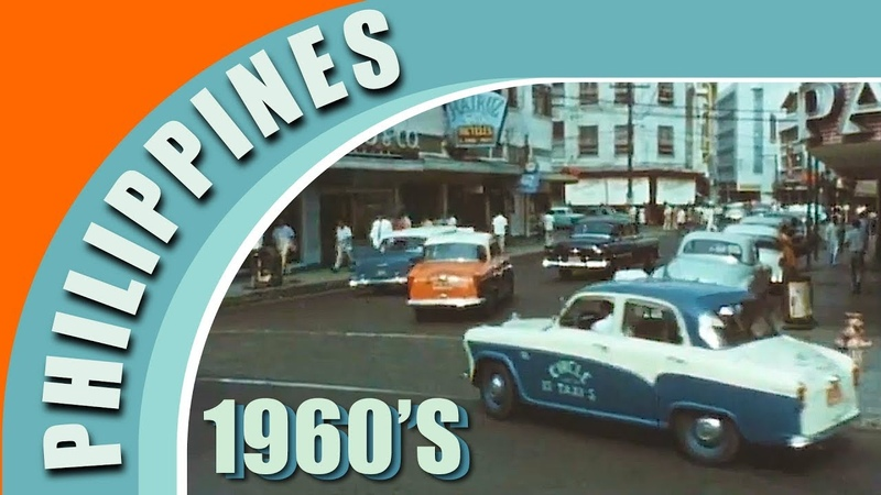 Manila Philippines, Queen of the Pacific 1960s 😎😍😘   [Digitally Restored and Remastered Old Video]