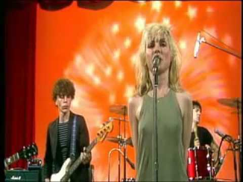 Blondie Contact in red square Kung Fu Girls 1977