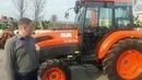 KUBOTA L5040. Tractor overview. Обзор трактора. ООО Ландтехник (Full-HD)