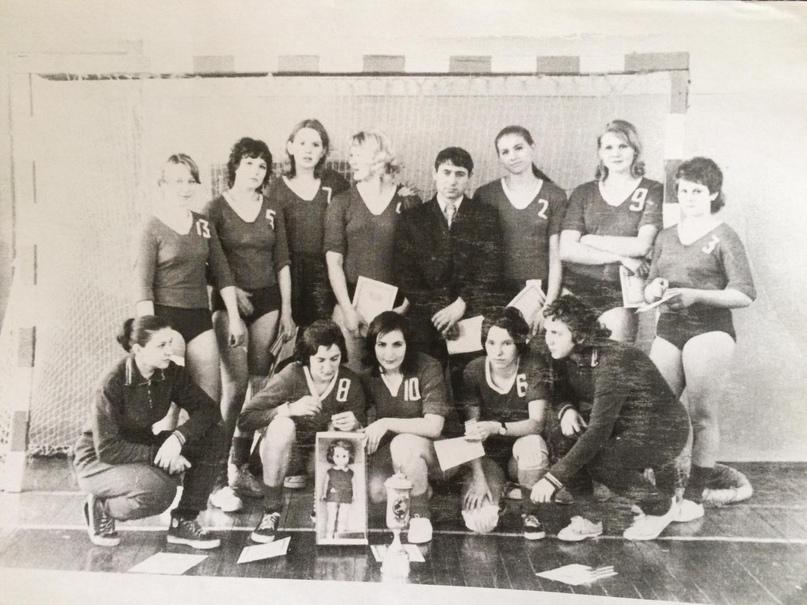 Чемпионки молодежных игр России. Белгород. 1974 г.