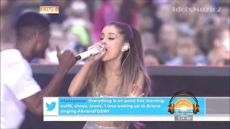Ariana Grande Today Show Bang Bang Today Show 8 29 14