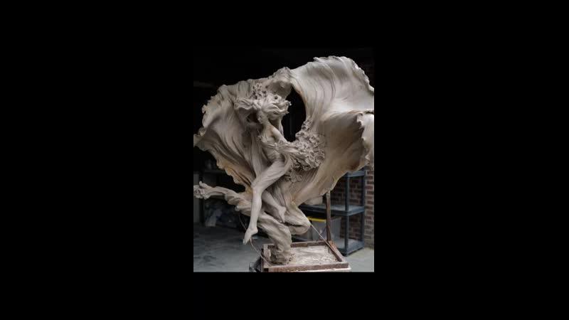 Реалистичные скульптуры художницы Лу Ли Ронг